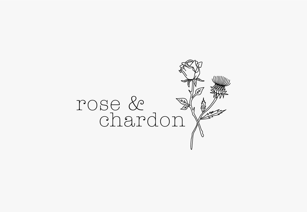 Rose et Chardon